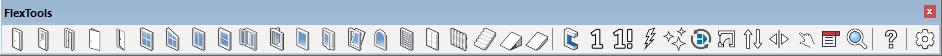 FlexTools toolbar