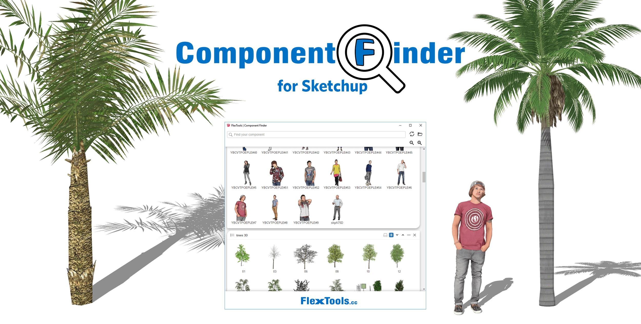 Component Finder for Sketchup Cover
