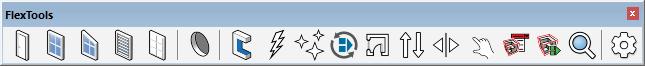 FlexTools toolbar with ComponentFinder