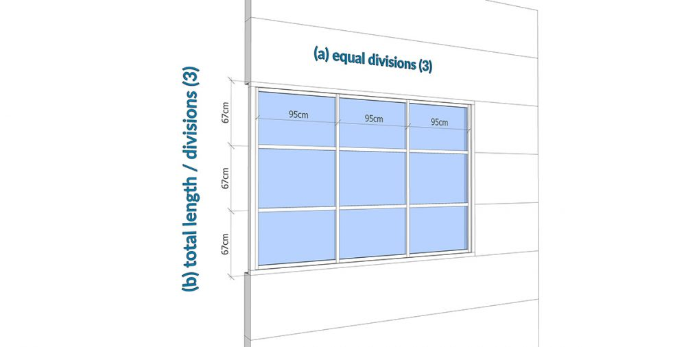 FlexWindow distribution A B