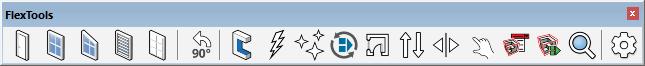FlexTools Toolbar FlexPack Pro