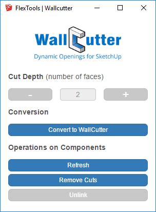 WallCutter Control Panel Image