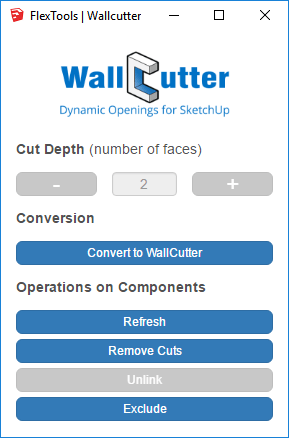 WallCutter Control Panel