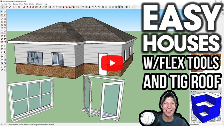Easy House W FlexTools Cover