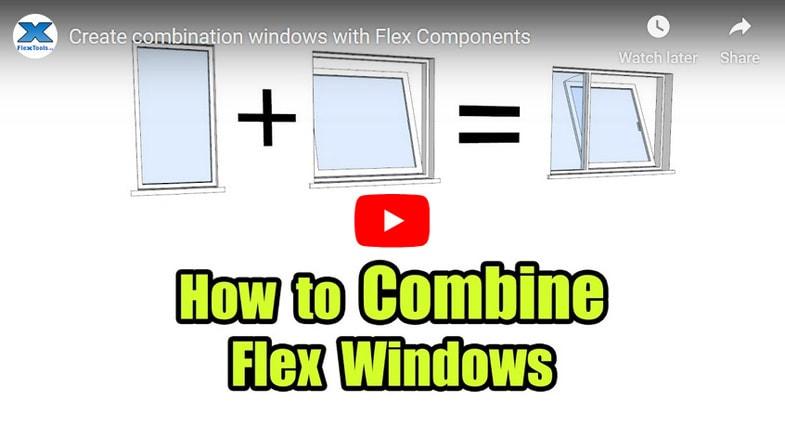 How to Combine Flex Windows Cover