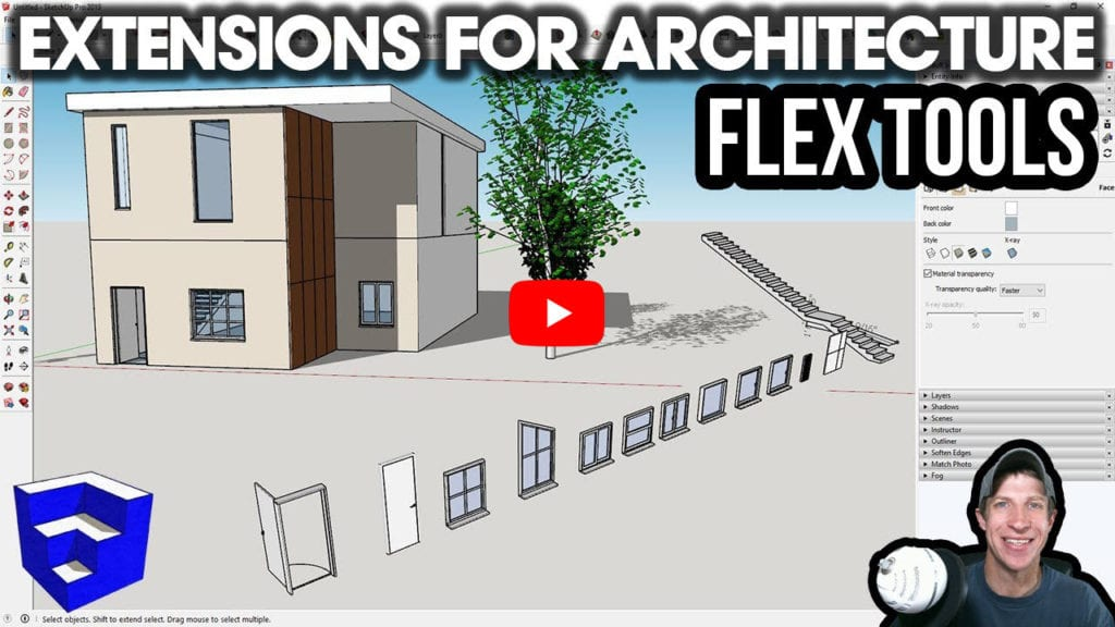 The SketchUp Essentials - FlexTools overview