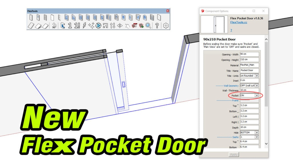 New Flex Pocket Door Cover Image