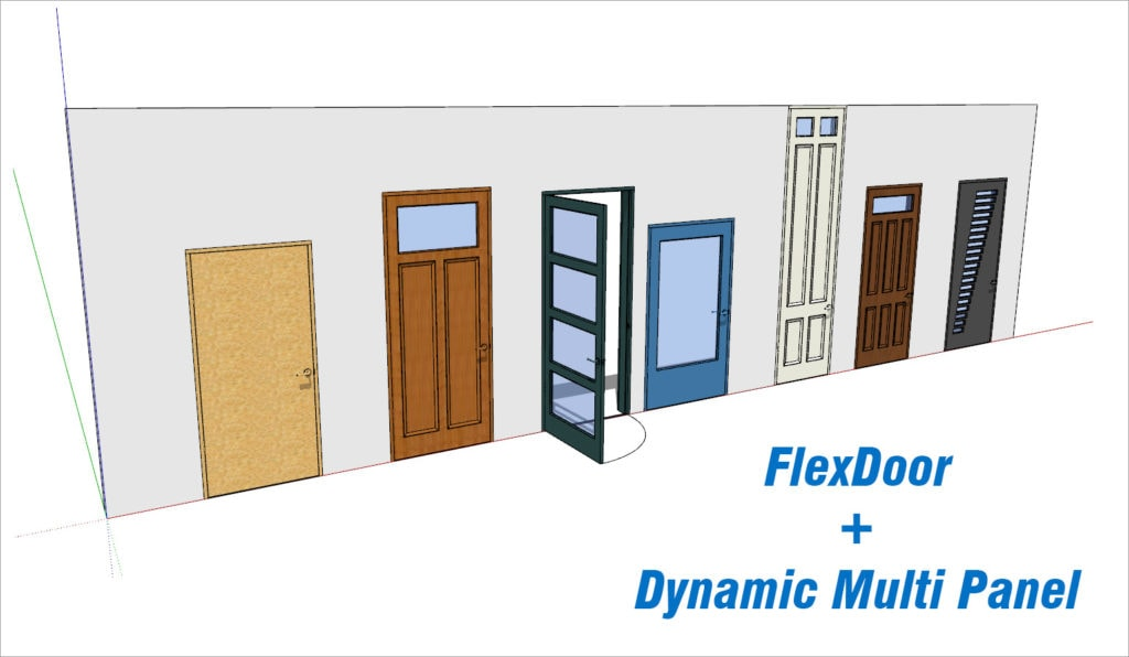 FlexDoor + Multi Panel Door