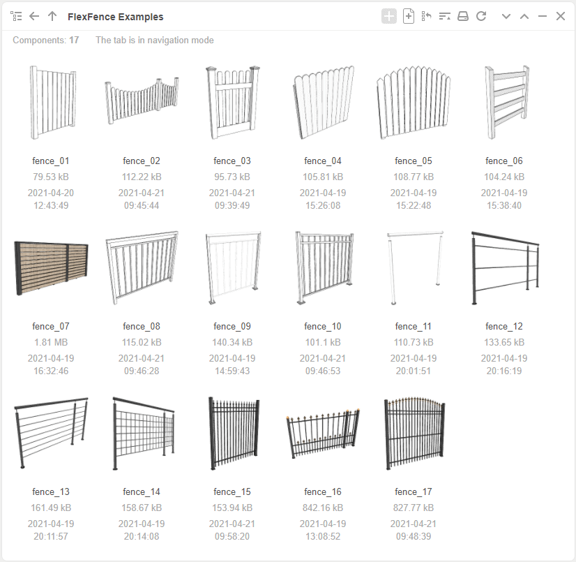 FlexFence Examples