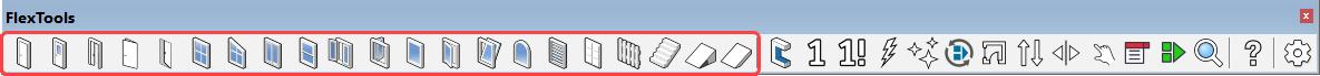 FlexTools Toolbar - Dynamic Components