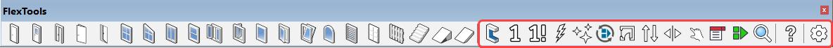 FlexTools toolbar - Tools