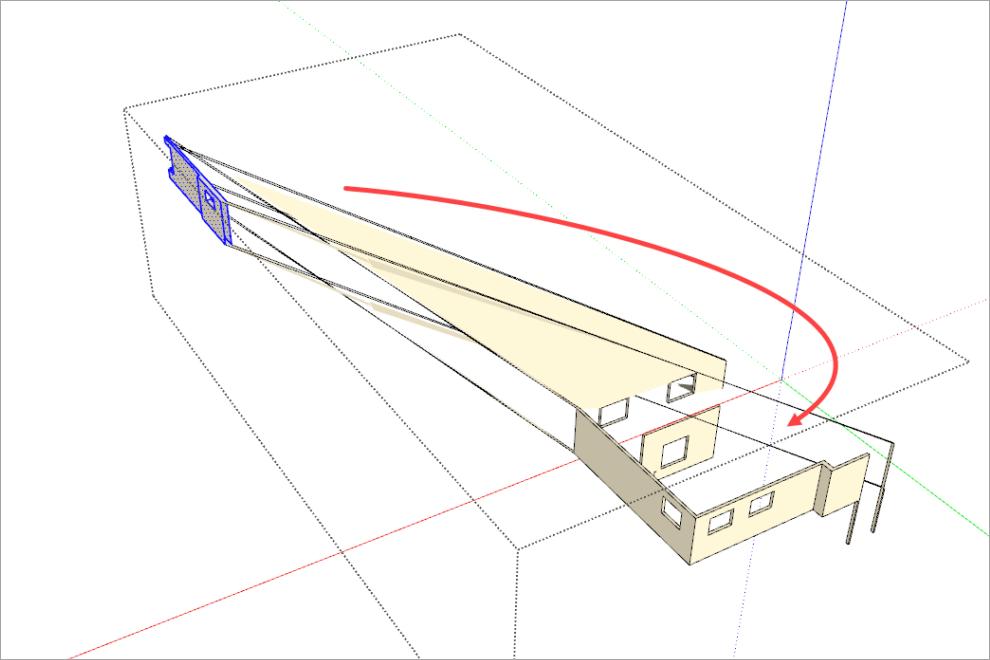 Flying Geometry Sketchup Bug