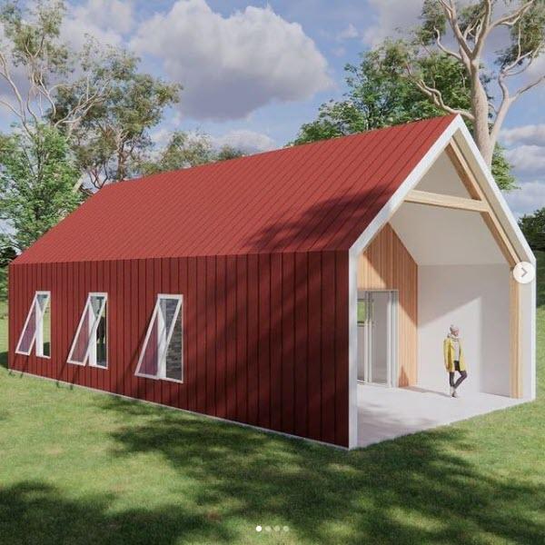 Longhouse - Modern Barn 1