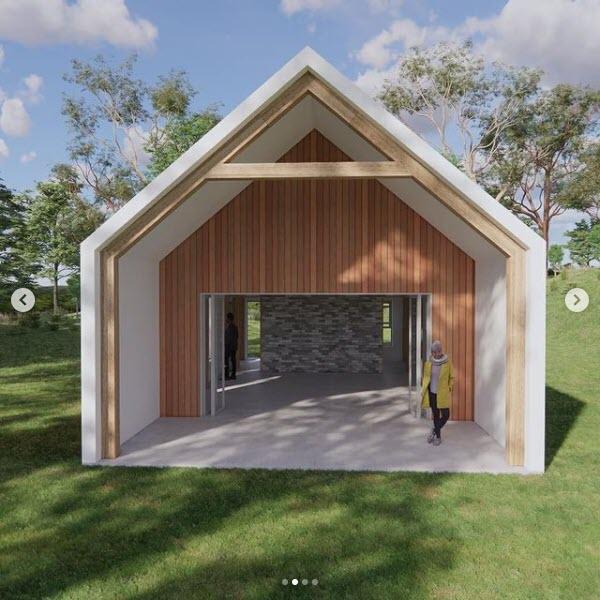 Longhouse - Modern Barn 2