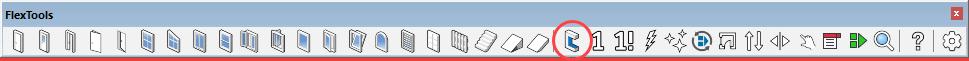 wallcutter toolbar